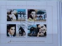 kubanische Briefmarken mit Che Guevara