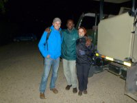 Unser Guide bei der Nacht Safari