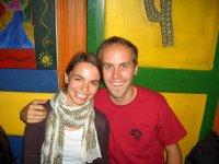 Viktoria und Bernd beim ersten gemeinsamen Abendessen