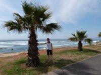 Viki am Strand von Kapstadt